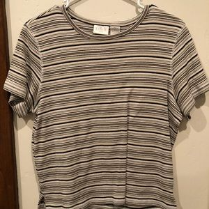 Striped tee from Erika!